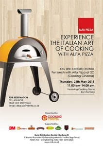 Experience the italian art of cooking with Alfa Pizza