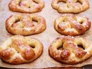 Homemade Soft Pretzels from Gemma