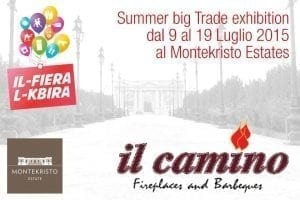 Il Camino at the Summer big Trade exhibition 2015