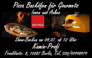 Pizza Backöfen für Gourmets