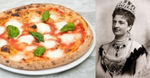 The history of the Pizza Margherita