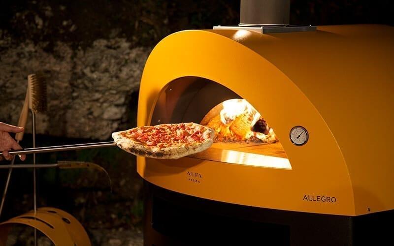 forno allegro, cottura della pizza