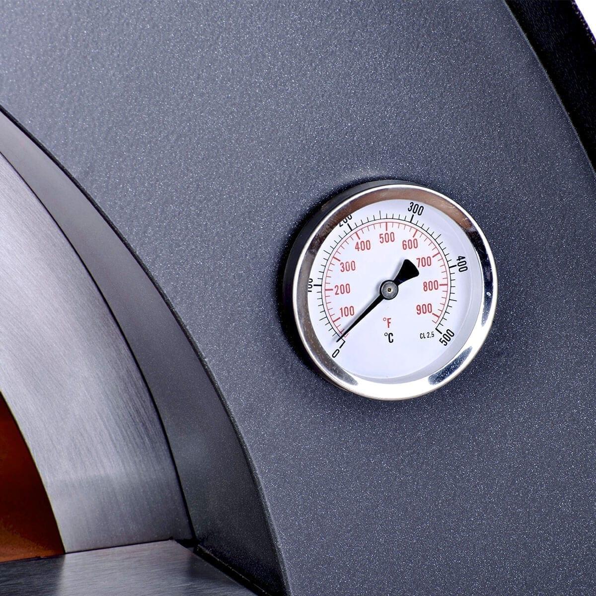Thermomètre Four À Pain 500 ciao - four à bois avec sole réfractaire, léger et maniable