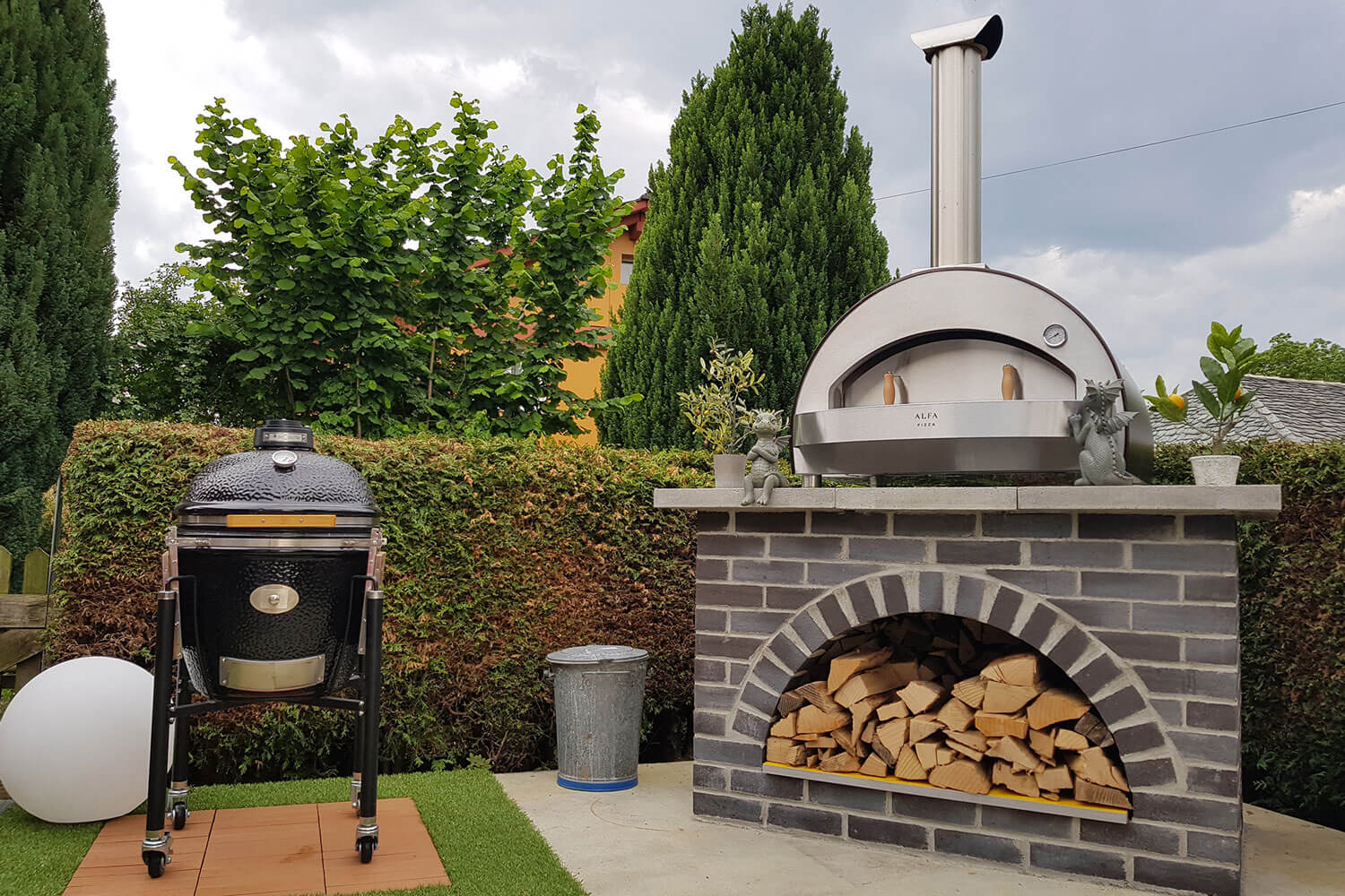 Residential Wood And Gas Fired Ovens Grilling And Baking Your Food