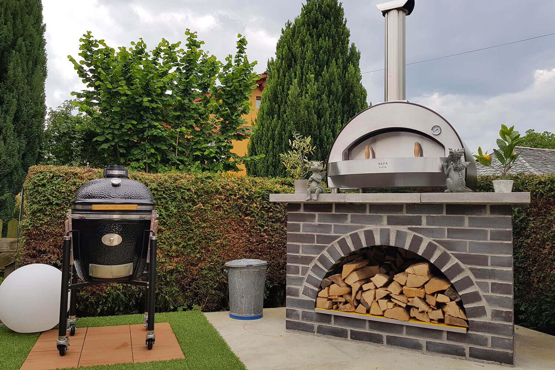 Forni a legna e a gas per cucine interne ed esterne alfa forni - Forni elettrici da esterno ...