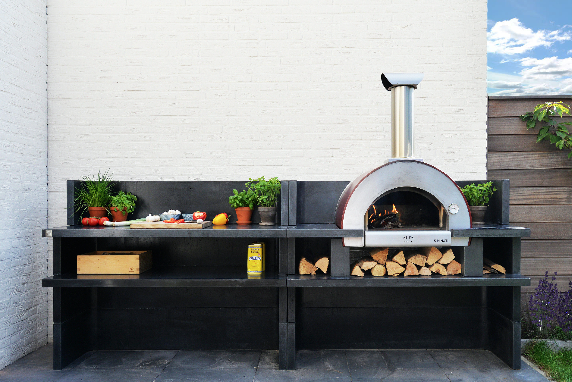 How To Incorporate An Alfa Into Your Outdoor Kitchen