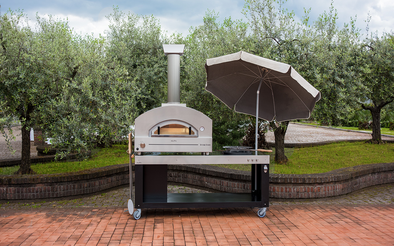 Stone Ovens Gas Fired Oven For Making A Homemade