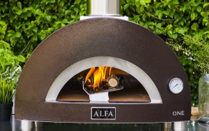 Designer wood-fired oven: how to recognise uniqueness and innovation.