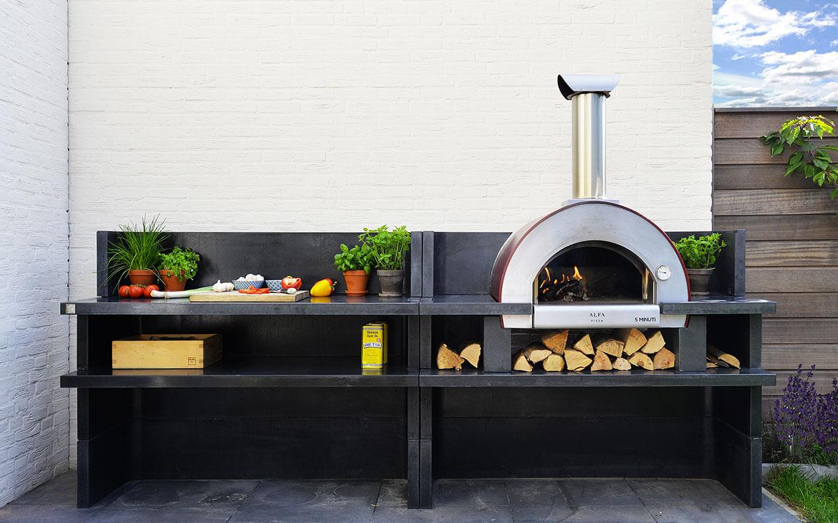 5 Minuti Residential Wood Fired Oven Alfa Forni
