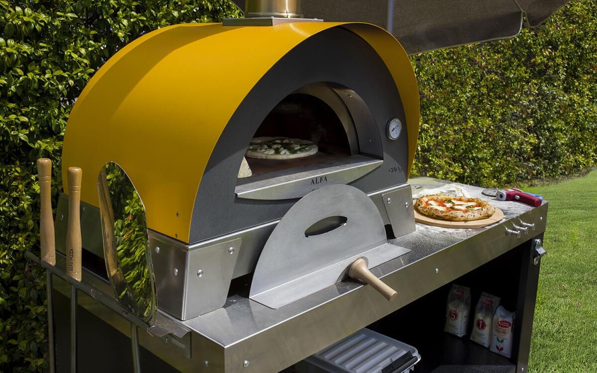 Tavolo Multifunzione Per Pizza Alfa Forni